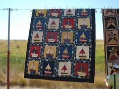 Buggy Barn Quilt- I made this quilt for my grandson William!