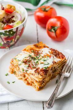 Rich & Meaty Classic Lasagna