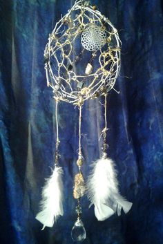 Wind Blown Earth Tone Dream Catcher by CherylwoodForest on Etsy