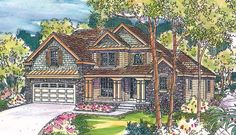 House Plan 69671 at FamilyHomePlans.com