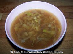 Les Gourmandes Astucieuses (Cuisine végétarienne): Soupe rapide au miso