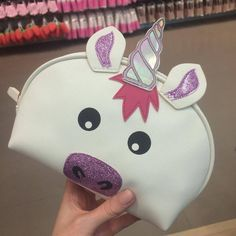 UNICORN Make Up Toiletry Cosmetics Bag Primark