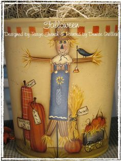 Halloween   by Denise Guillen  E-Pattern by PaintingWithFriends