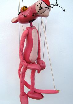 The Pink Panther. Pelham Puppets. Marionettes. UK