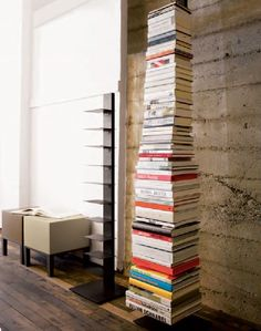 Sandbox Time Vertical BookshelfFloating