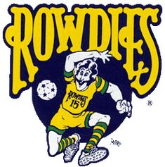 Tampa Bay Rowdies played in North American Soccer League (NASL) from 1975 to 1984. Players included Rodney Marsh. Their striped green/gold socks were distinctive.