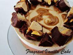 Raw Candy Bar Cheesecake from Fragrant Vanilla Cake