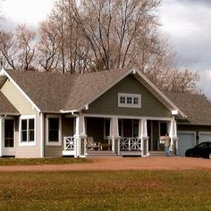 Front porch design ranch style home – House design ideas