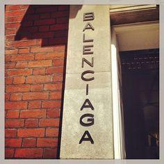 The gorgeous Balenciaga London boutique on Mount Street! #Balenciaga #Mayfair #London  www.5ivestarlondon.com London Instagram, Instagram Posts, Uk Capital, Mayfair London, Balenciaga, Boutique, Star, Street, Roads