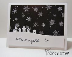 NBUS #5 Silent Night by nancy littrell - Cards and Paper Crafts at Splitcoaststampers