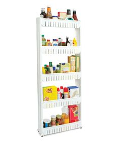 Five-Tier Slim Slide-Out Pantry