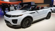 2016 Land Rover Range Rover Evoque Convertible is right at home in LA - Autoblog
