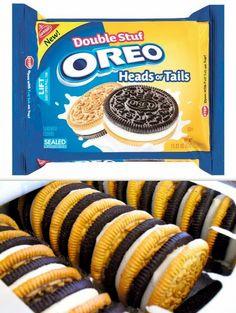Weird Oreo Flavors, Cookie Flavors, Oreos, Delicious Desserts, Yummy Food, Junk Food Snacks, Oreo Dessert, Starbucks, Weird Food