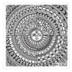 California desert Festival Collection nail stamping plates lifestyle flower child starry-eyed designs color polish stamper scraper buffet dreamcatcher sun medallion feather abstract geometric hipster animal wanderlust