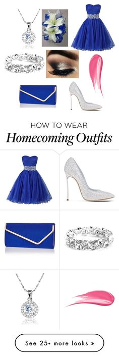 """Homecoming Day"" by designergirl03 on Polyvore featuring Casadei, River Island and Hourglass Cosmetics"