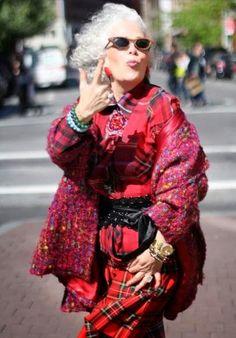 The fashion elder
