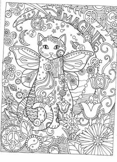 cat cats kitty kitties kitten kittens feline gatos katze chat gatto cat koka druku gato katt macska tulostettava coloring pages colouring adult