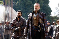 The Musketeers - Hugo Speer as Treville and Howard Charles as Porthos