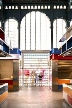 Proyecto de Remodelación del Mercado Municipal de Atarazanas,Cortesía de Aranguren & Gallegos Arquitectos