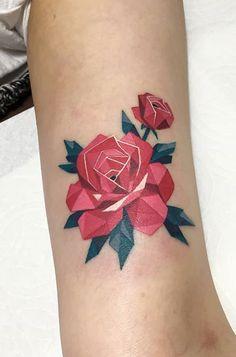 Sj Tattooer flower tattoo