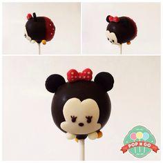 popngocakepops minnie tsum tsum cakepop