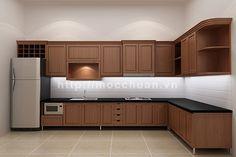 Tủ bếp óc chó 2 http://mocchuan.vn/tu-bep-go-oc-cho-khong-phai-muon-la-co/
