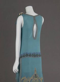 Dress Worn at a Wedding Civil Ceremony, American, 1927 (View 2)