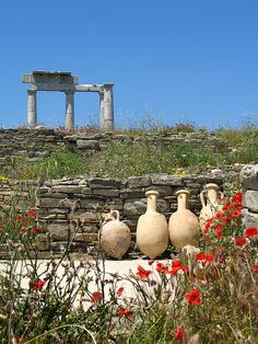 TRAVEL'IN GREECE I Ruins of #Delos, #South_Aegean, #Greece