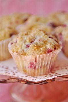 Raspberry Dream Muffins by yourhomebasedmom, via Flickr