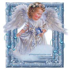 Glitter Graphics Angels   Angeli Glitter » Angeli animate glitter grafica immagini angioletti ...