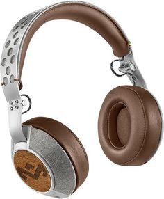 House of Marley - Liberate XL On-Ear Headphones - Saddle, EM-FH033-SD