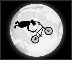 ET BMX stunt jump T-shirt
