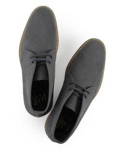 Vegan- Non-Leather Mens Desert Boots Grey Fashion Guide, Male Fashion, Fashion Shoes, Grey Wedding Shoes, Grey Shoes, Vegan Store, Vegan Boots, Vegan Shopping, Vegan Clothing