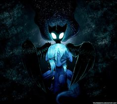 """Benighted by Vulpessentia on deviantART. """"Hush now, child. The sun will not be able to harm you anymore."""""""