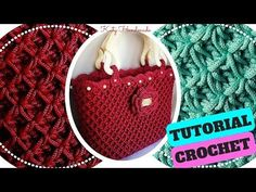 Tutorial crochet | Punto fiorellini in rilievo (o thai) uncinetto || Katy Handmade - YouTube
