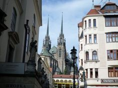 Old town square in Brno