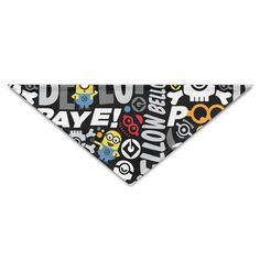 ALIIXUN2 Cute Minion Pets Dogs Cats Puppy Bandana Bibs Triangle Head Scarfs Accessories -- Discover this special dog product, click the image : Dog Bandanas