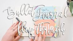 Welcome to the world of bullet journalling! Take a peek inside mine, see how I use it and what I'm planning on adapting for the next month! And don't forget ...