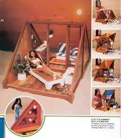 Taylor – I had this! You could change it from beach to snow skiing!- Taylor – I had this! You could change it from beach to snow skiing! Barbie Y Ken, Barbie Dolls, 1970s Dolls, Barbie Stuff, Vintage Barbie, Vintage Dolls, Childhood Toys, Childhood Memories, Barbie Playsets