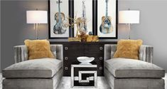 Inspired by this  look on @Z Gallerie  from Z Gallerie with furniture I have already (add the accents) Different Colors