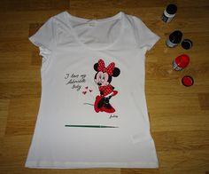 Tricou - Minnie Mouse #pictatmanual #tricouripictate