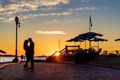 Sunrise Engagement Photography -Airport Style-