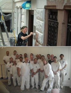This company provides professional caulking, sanding, and plastering services. They also do interior and exterior painting, brushing, and rolling, among others.
