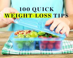 100 Quick Weight-Loss Tips