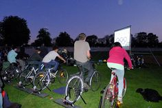 Continuing on the theme of pedal power, the city of Derby in the United Kingdom will be hosting a pedal-powered festival this Summer.Burn off your popcorn at the pedal powered cinema and wrap it up with a party where the DJ's spin on turntables energized by pedal-power. These community events also include demonstrations and workshops to show how to harness pedal power.