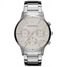 Emporio Armani Mens Chronograph Watch