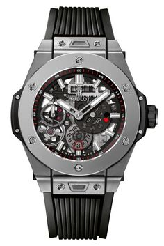 657559ccc50 HUBLOT Big Bang Unico Automatic Mens Watch Transparent Case Rubber Strap