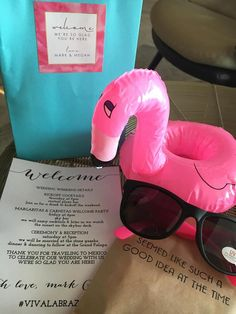 Greet your guests with exciting wedding favors that will add to their destination wedding week experience. Destination Wedding Favors, Wedding Week, Welcome To The Party, Mexico Travel, Travel Destinations, Road Trip Destinations, Destinations