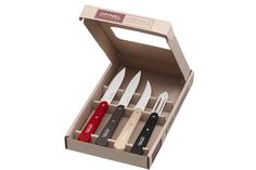 Opinel Knives, fabulous Kitchen ware now available at Gorgeous Things LTD! http://www.gorgeousthingsltd.com/collections/opinel-knives