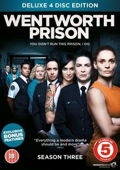 Wentworth Prison Season 3 [DVD]: Amazon.co.uk: Danielle Cormack, Nicole da Silva, Pamela Rabe, Series Producer: Amanda Crittenden: DVD & Blu-ray